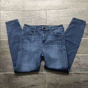 Liverpool High Waisted Skinny Jeans size 8
